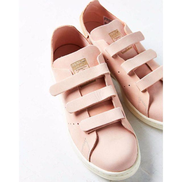 Adidas Originals Stan Smith CF Vapour Pink 藕粉 黏黏鞋 魔鬼氈