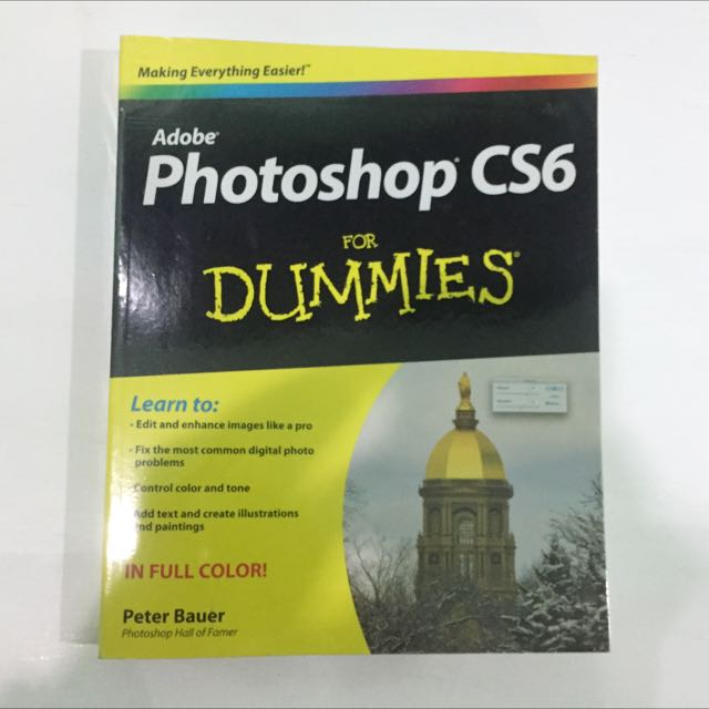 Adobe Photoshop CS6 for Dummies