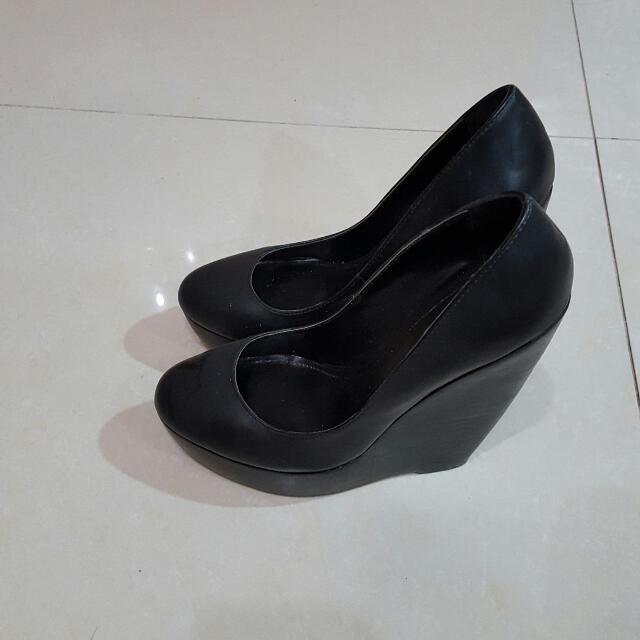 [二手]ALDO女楔形鞋36