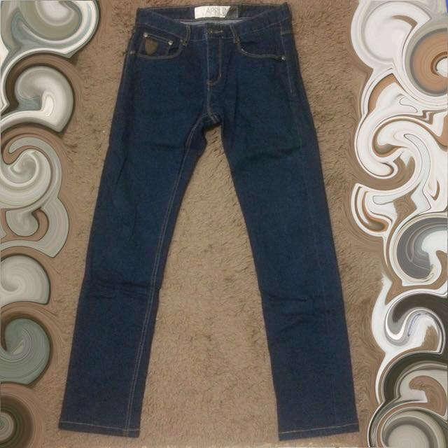 April 77 Celana Panjang Denim