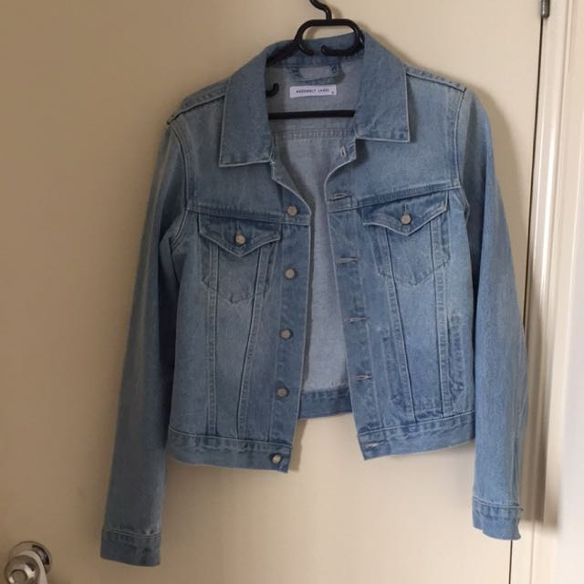 Assembly Label Femme Denim Jacket Vintage Wash