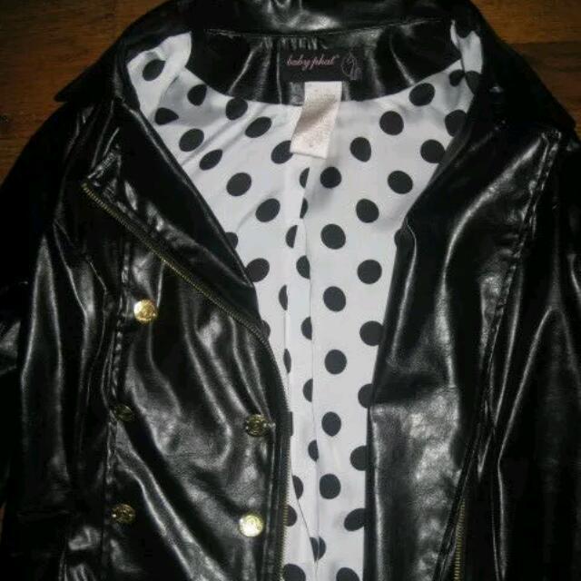 Authentic Baby Phat Leather Coat