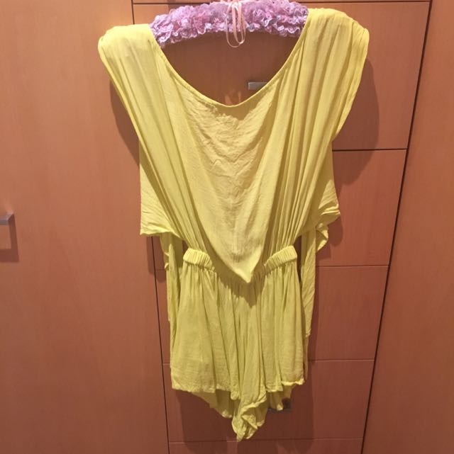 Backless Playsuit Size 8-10