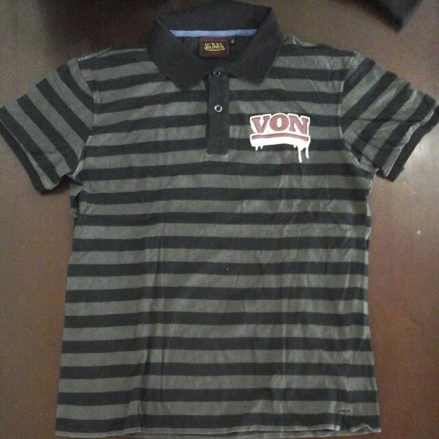 Black Stripes Polo Shirt