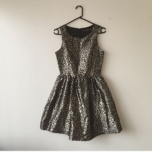 Boohoo Leopard Dress