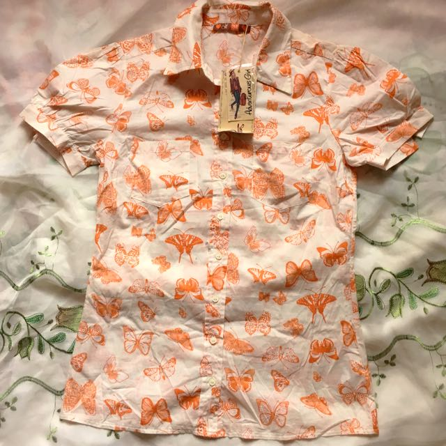NEW Button-up Blouse