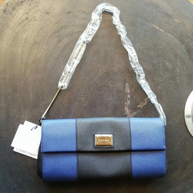 Calvin Klein Colorblock Shoulder Bag