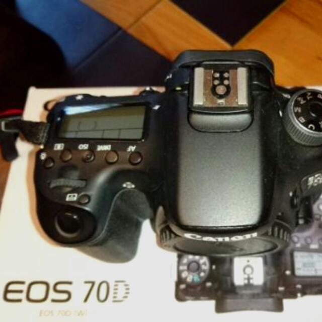 CANON EOS 70D SLR Super Kit