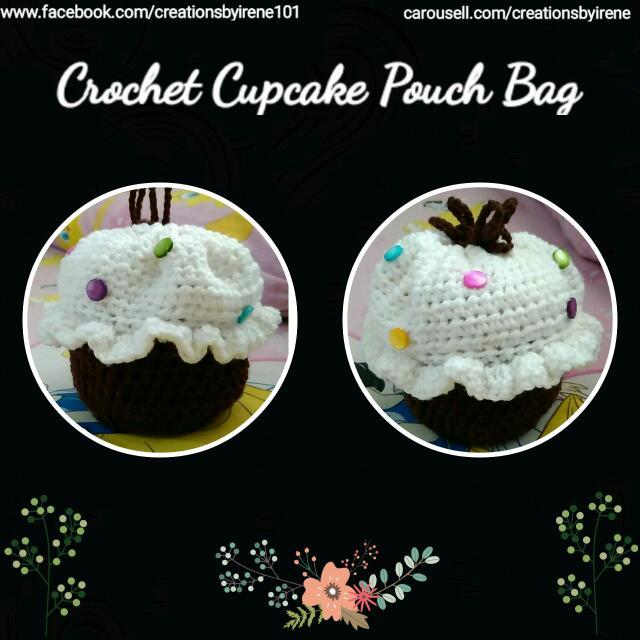 Crochet Cupcake Bag
