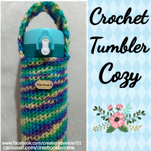 Crochet Tumbler Cozy