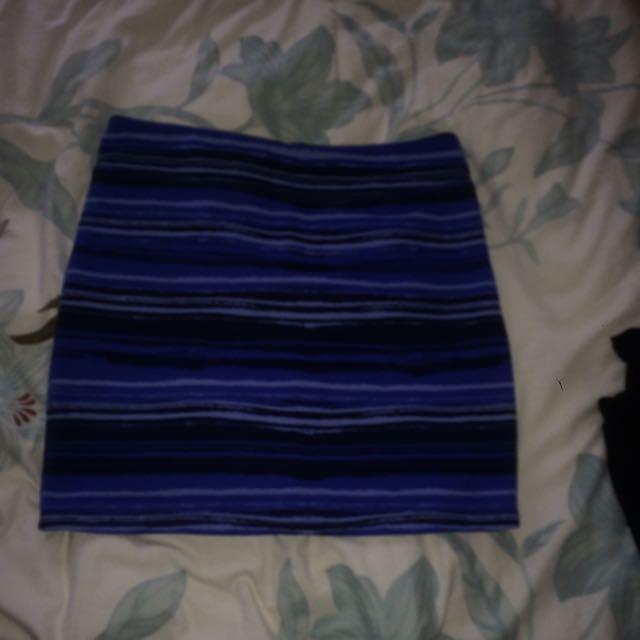 Dotty Mini Skirt
