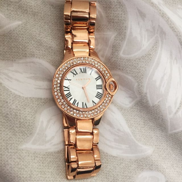 Fervor Montreal (French Brand) Rose Gold Watch