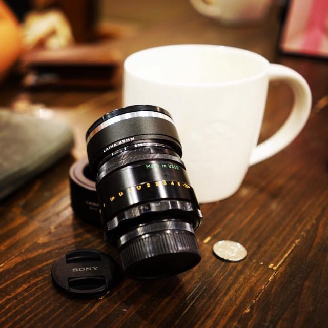 Helios 44-2 58mm F2 0 With Sony E Mount Adapter