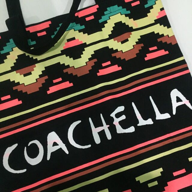 H&M ❤️ Coachella Tote Bag