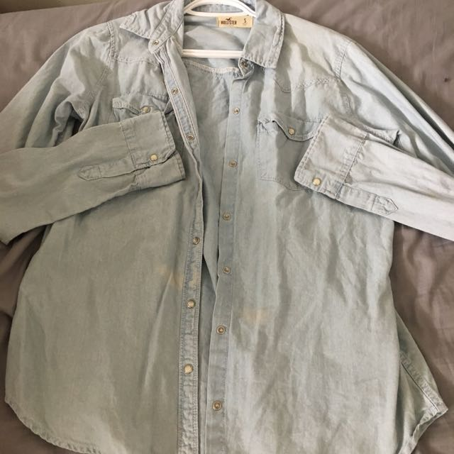 Hollister Light Jean Shirt