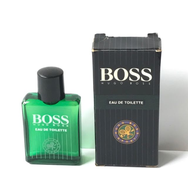 women hot-selling newest beautiful in colour Hugo Boss Sport Eau De Toilette Miniature Perfume 5ml ...
