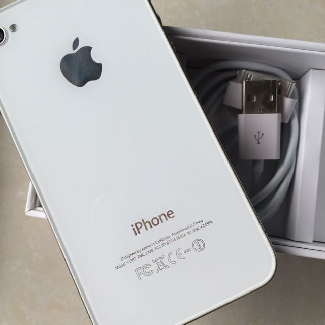 iPhone 4S 16G 白色