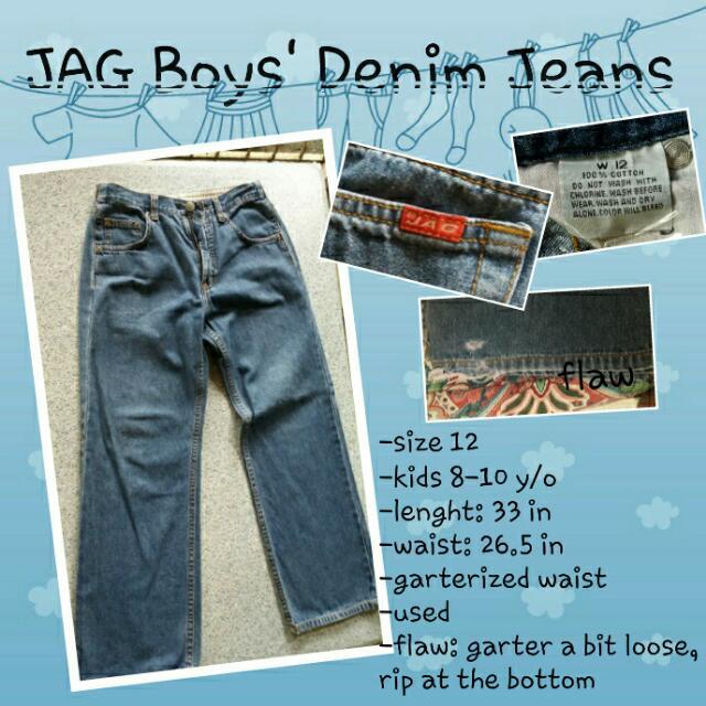 JAG Boys' Denim Pants