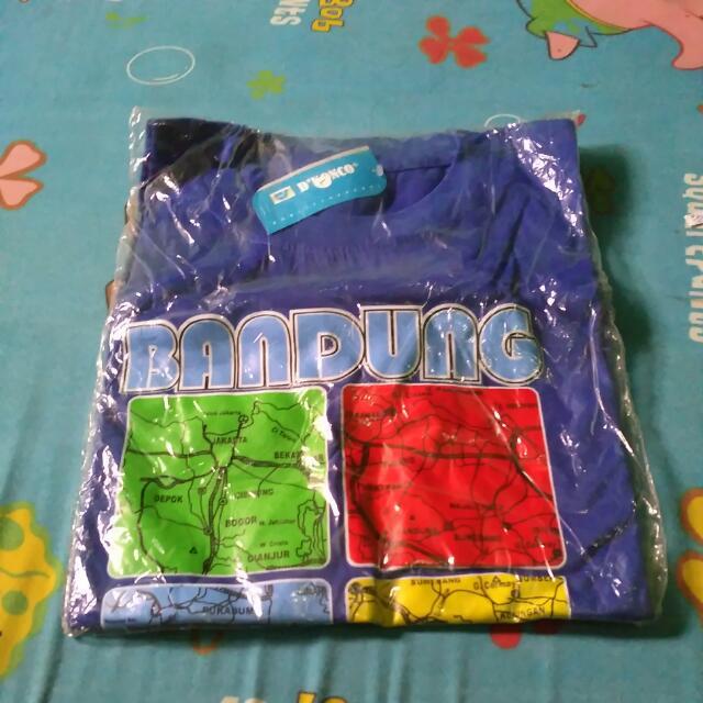 Kaos Oleh-oleh Bandung
