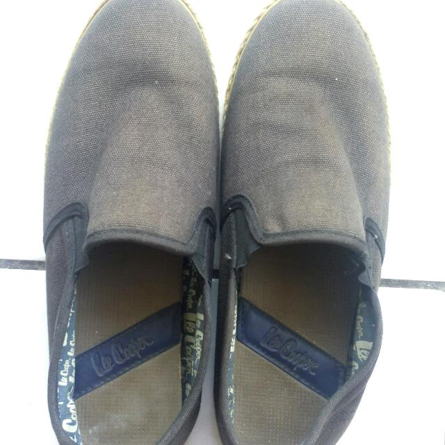 Lee Cooper Slip On Shoes Unisex