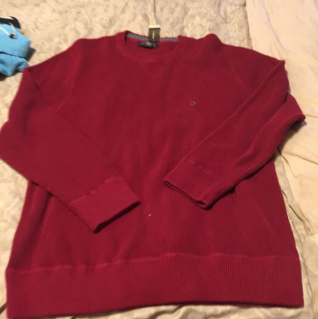 Male Red Sweater