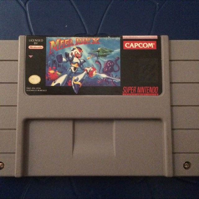 Mega Man X SNES CART ONLY