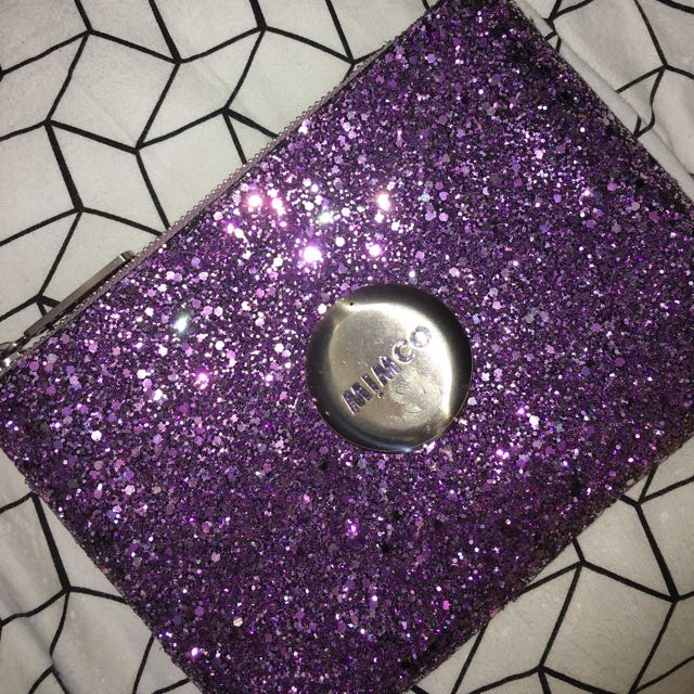 MIMCO Amethyst Sparks Pouch
