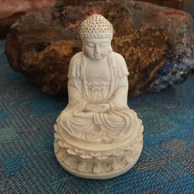 Miniature Little Buddha Figurine