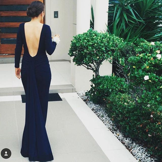 Navy Gown / Formal Dress