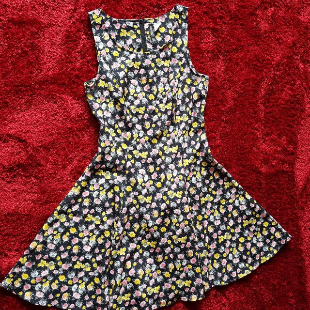 New Floral Skater Dress From HnM