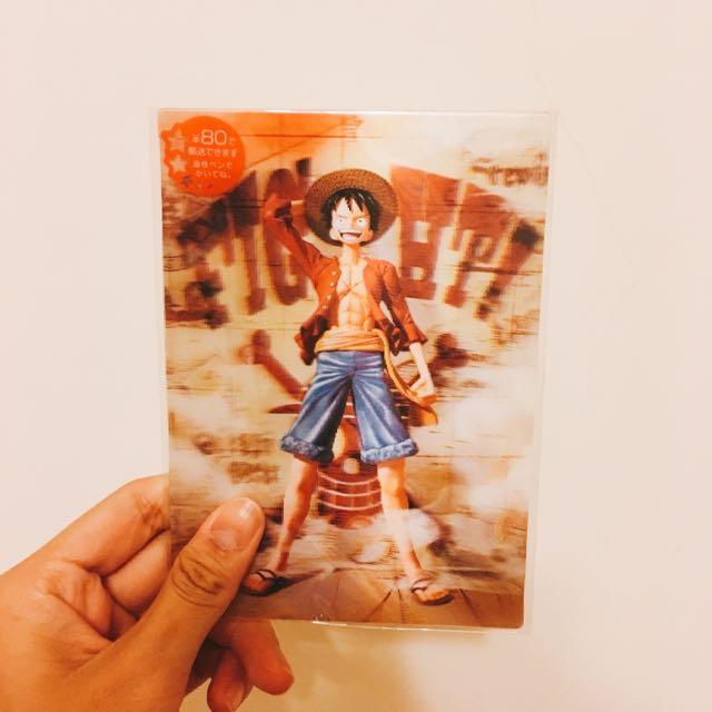 航海王💘海賊王💘one Piece 明信片❤️