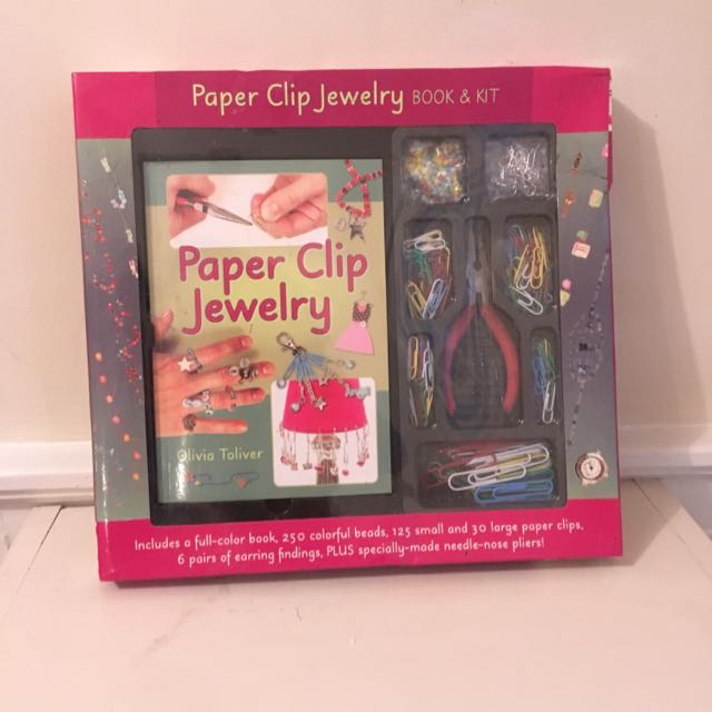 Paperclip Jewelry Kit