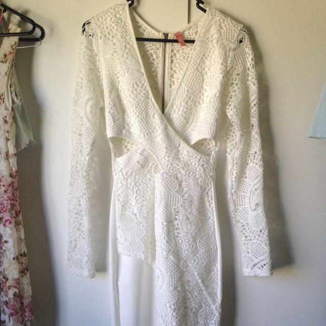 Peppermayo Crochet Dress