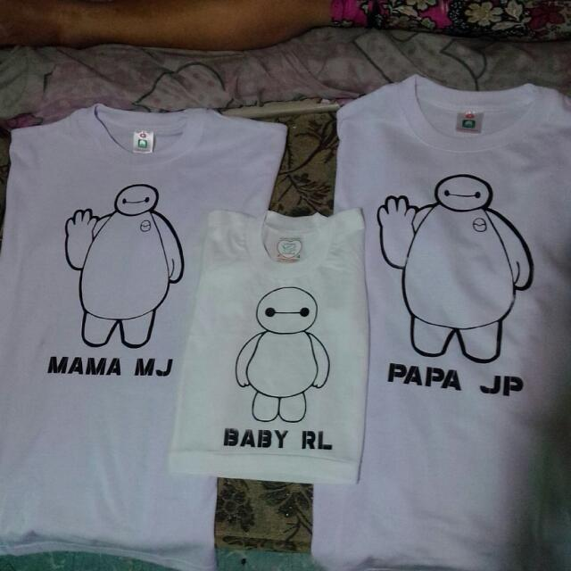 Personalized Baymax Family Shirt