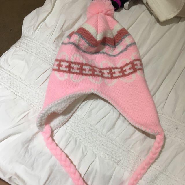 Pink Beenie