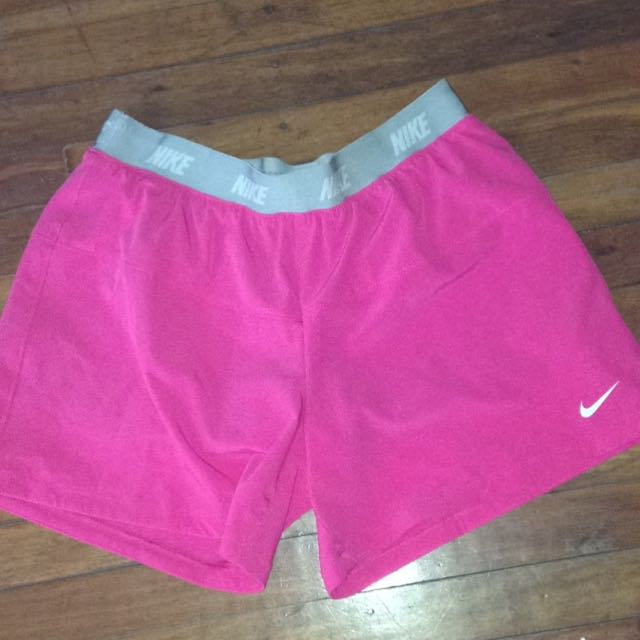 Pink Nike Dri-fit Shorts