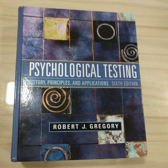 Psychological Testing: History Principles And Applications