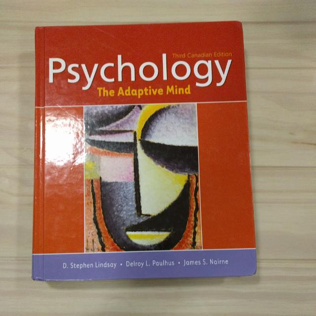 Psychology The Adaptive Mind