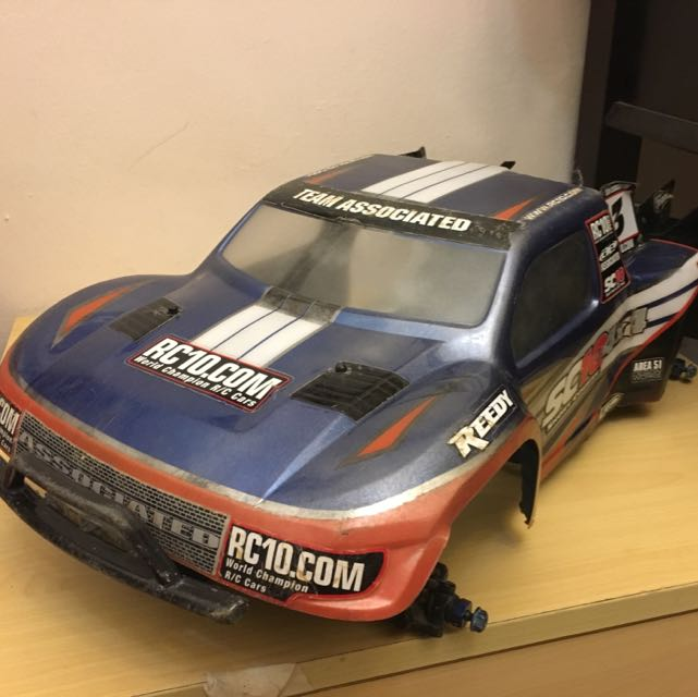 Reserved Rc - Team Associated SC10 Factory Team Kit 2wd Sct