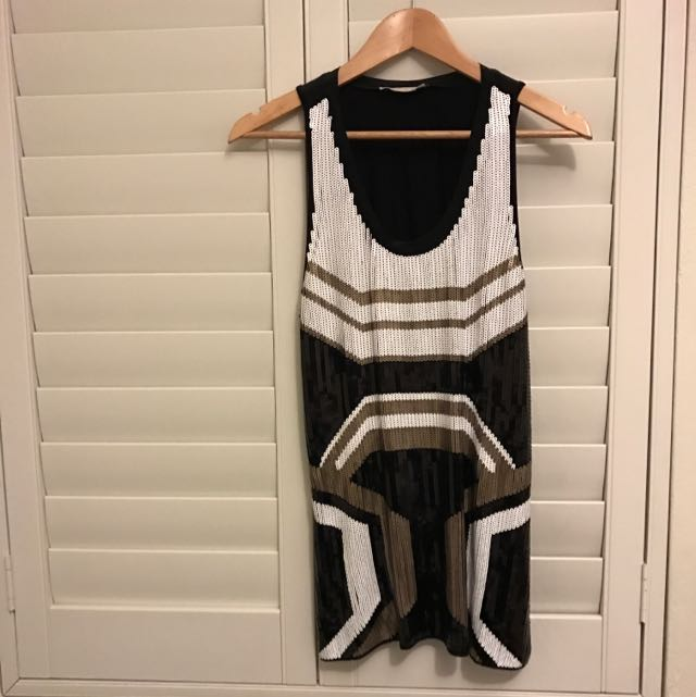 Sass Genuine Ziggy Sequin Dress/Top