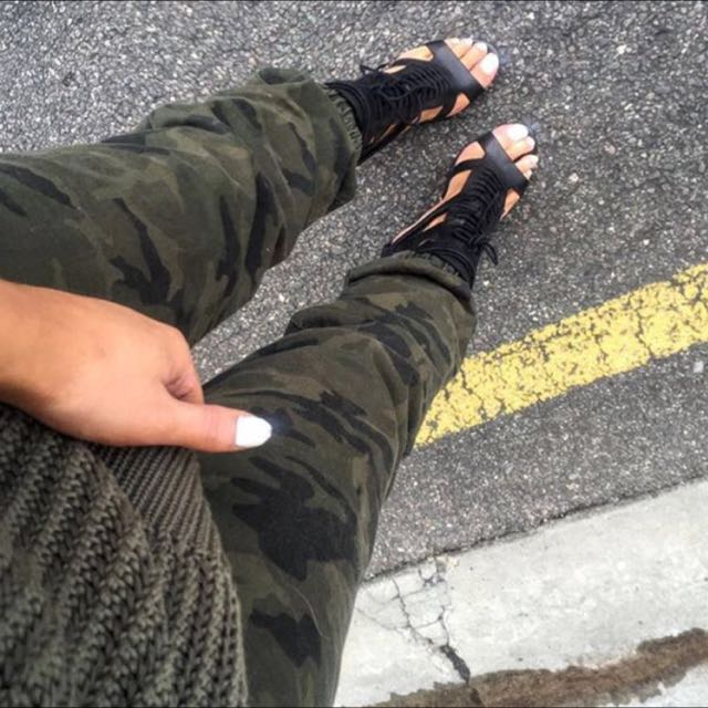 Sck The Label Camo Chino Pants