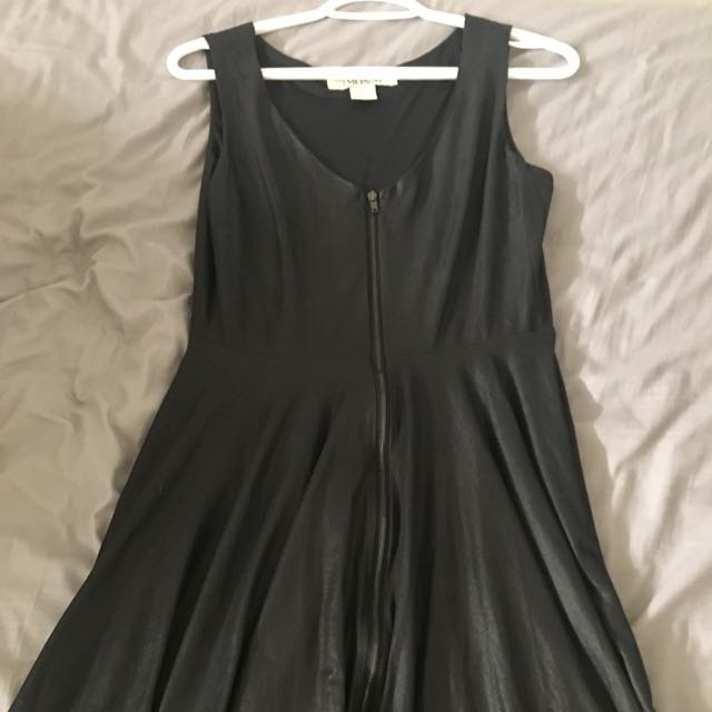 Sexy Zipper Dress