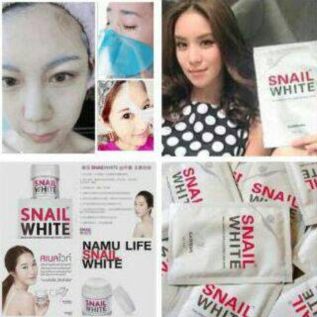 SNAIL WHITE MASK BY NAMU THAILAND