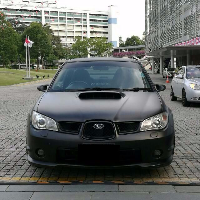 Subaru WRX 2 5M tuned for rent!