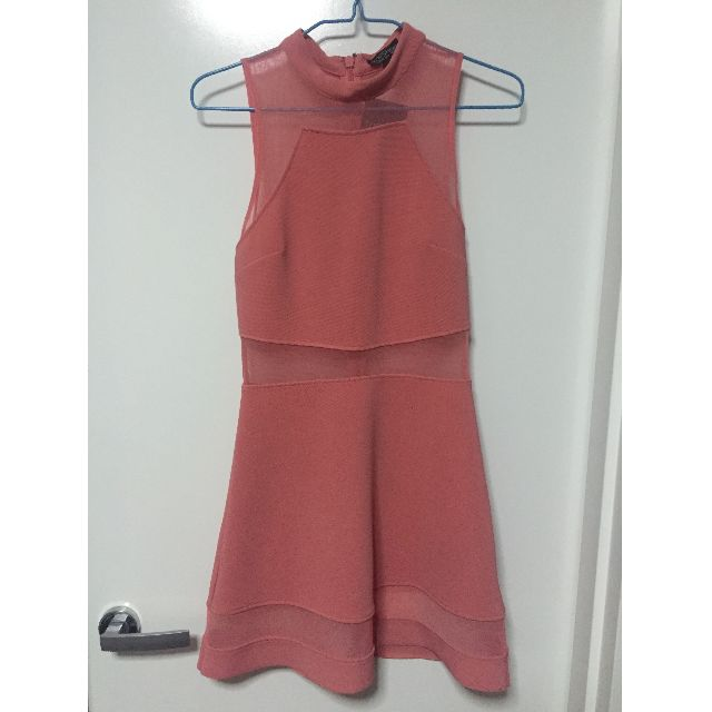 Topshop pink dress size 8