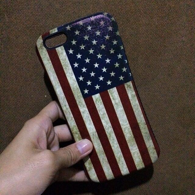 US Flag case for 6s+