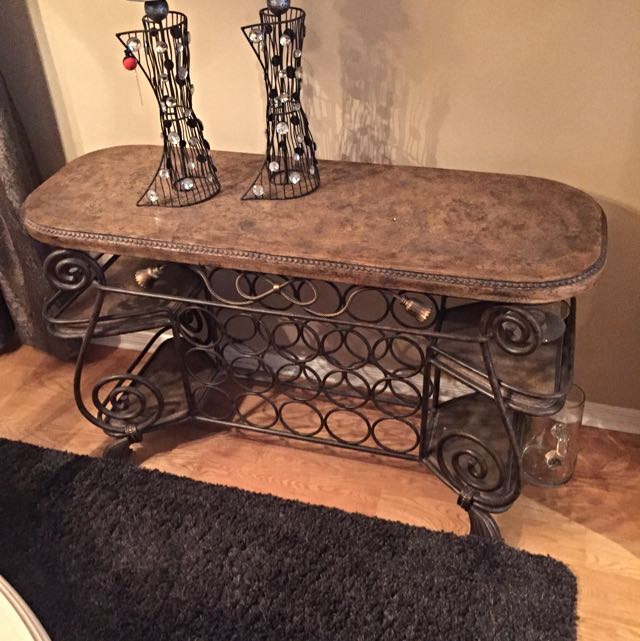 Vintage Bar Wine Holder