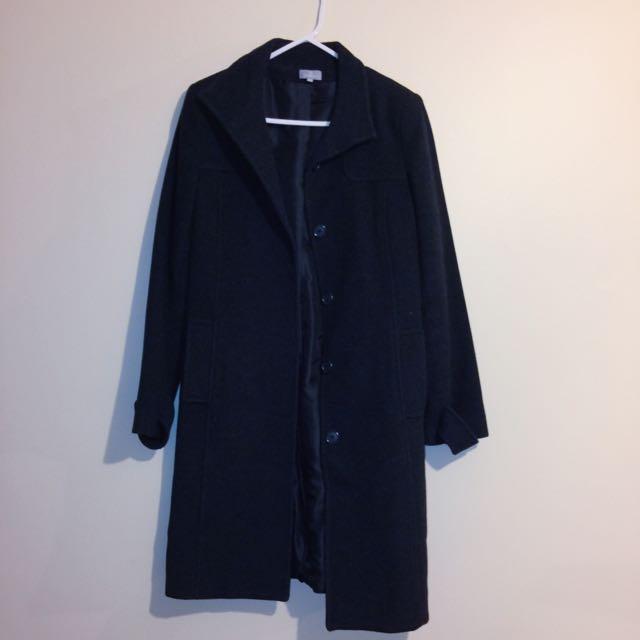 Winter Coat • black