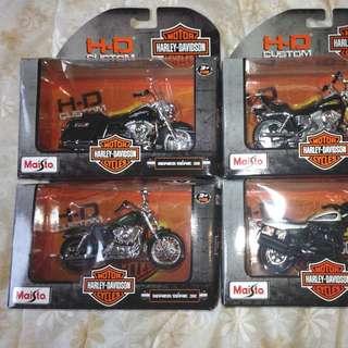 Harley Davidson Motorcycle Replica