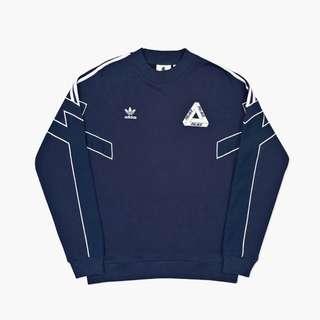 Adidas Palace CREWNECK 聯名大學T 全新張正品S號